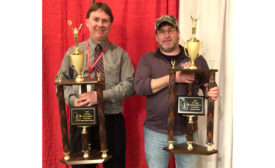WAMP Meat Products Competition Winners Jake Sailer and Jamie Cline