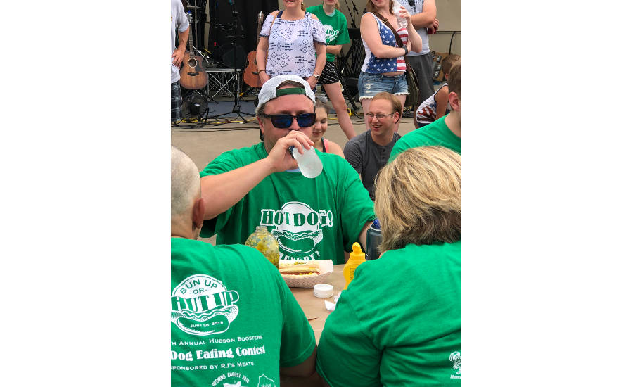 Hudson Days Hot Dog Eating Contest T-shirt
