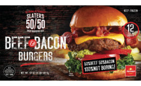 50/50 Beef & Bacon Burgers