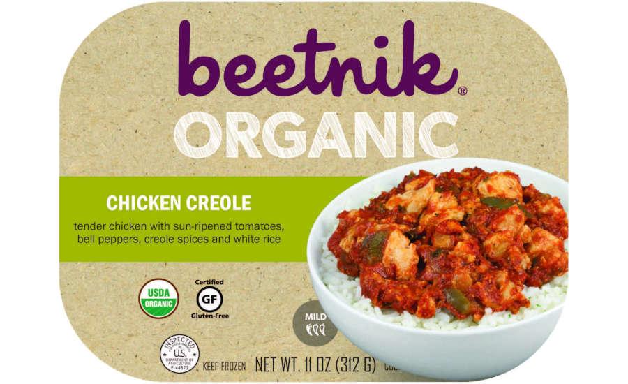 Beetnik Foods Organic Chicken Creole