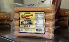 Botaniline hot dog