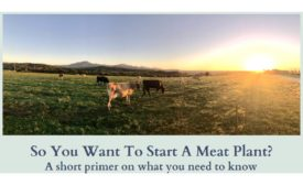 So you want to start a meat plant