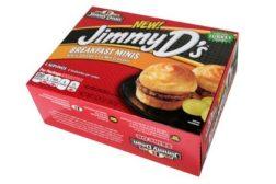 Jimmy Dean mini turkey sausage sandwiches