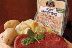 Corned beef brisket, Pocino Foods
