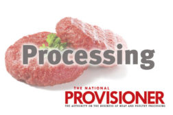 Processing, processed beef