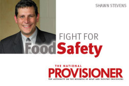 Fight for Food Safety, Shawn Stevens