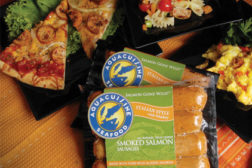 AquaCuisine seafood sausages