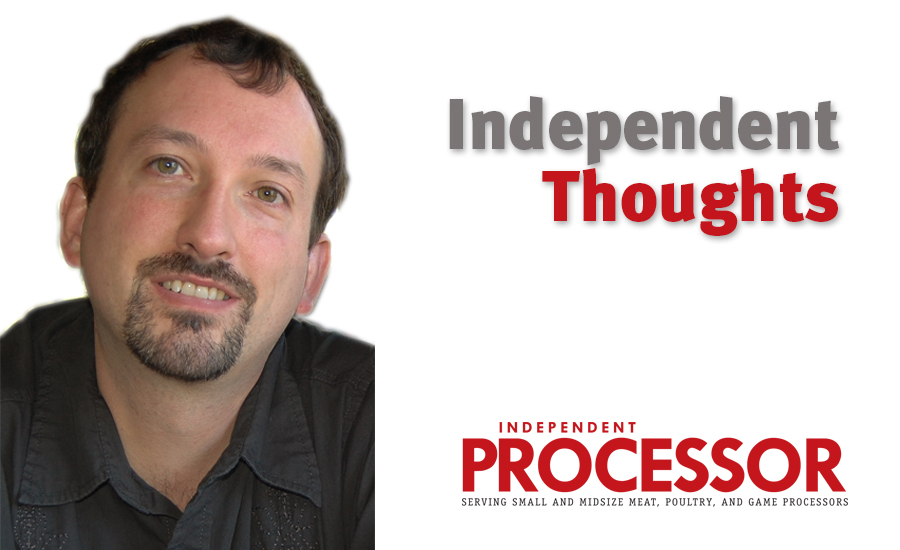 Independent Processor Editorial Independent Thoughts