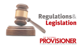 The National Provisioner's Regulations and Legislation