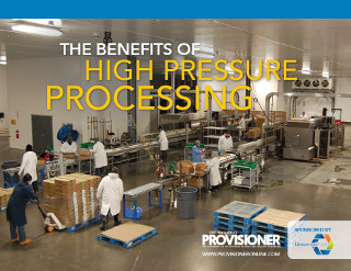 The Benefits of High Pressure Processing ebook cover