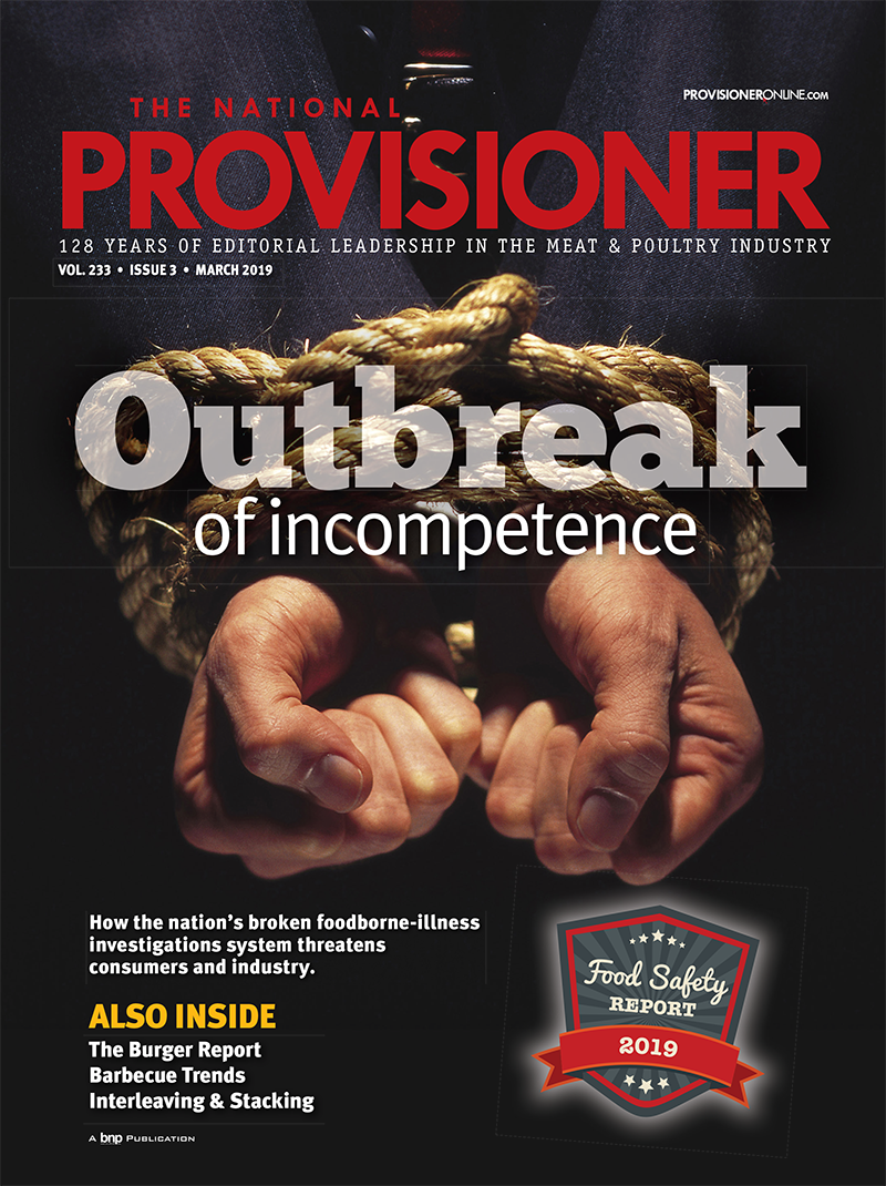 The National Provisioner Food Safety Cover