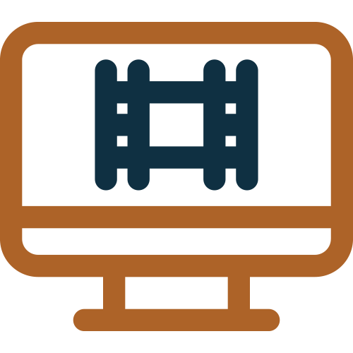 Video Teleprompter Icon