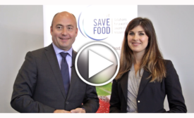 Bernd Jablonowski of Messe Dusseldorf discusses the SAVE FOOD Initiative