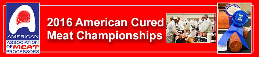 2016 American Cured Meat Championships