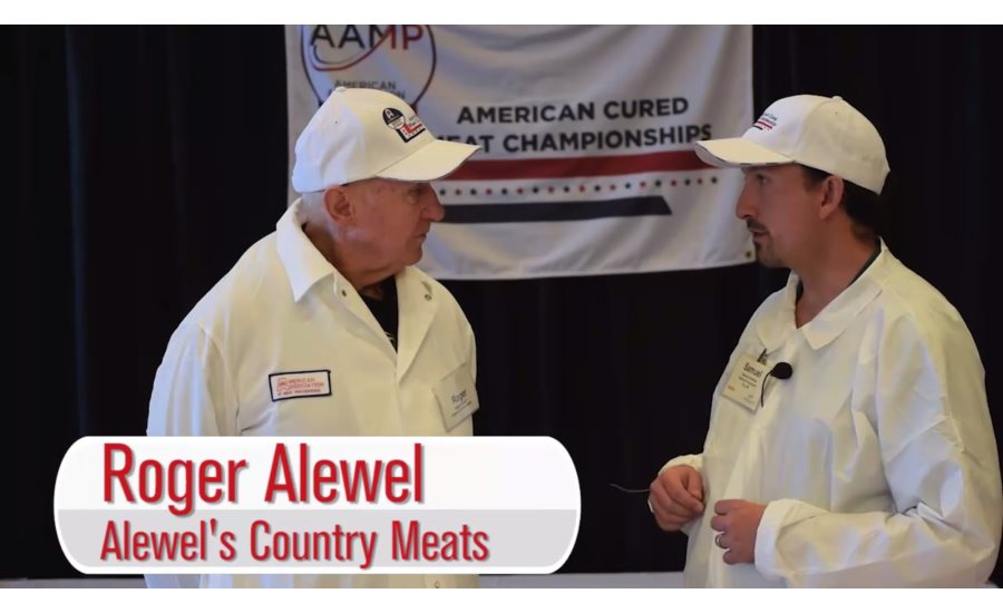 Roger Alewel discusses judging heavy weight bacons