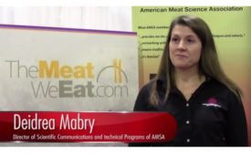 Deidra Mabry is Director of Scientific Communications and Technical Programs of AMSA