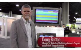 Doug Britton, Manager of Agricultural Technology Research Program at Georgia Tech Research Institute