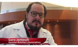 Gero Jentzsch of the German Butcher's Association