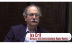 Director of communications for Foster Farms Ira Brill