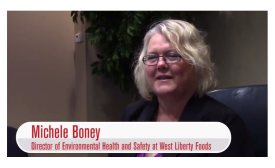 Michele Boney, Director of Environmental Health and Safety at West Liberty Foods