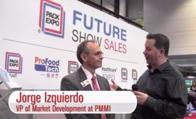 Jorge Izquierdo, VP of Market Development at PMMI, and Andy Hanacek