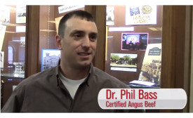 Dr. Phil Bass is a meat scientist at Certified Angus Beef LLC