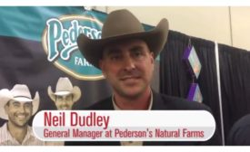 Neil Dudley, General Manager of Pederson's Natural Farms