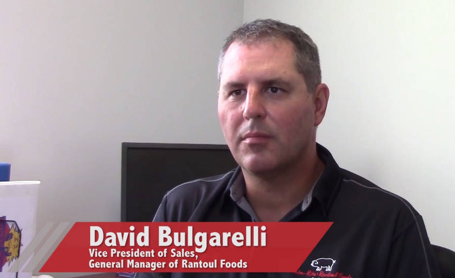 David Bulgarelli, Vice President of Sales, General Manager of Rantoul Foods
