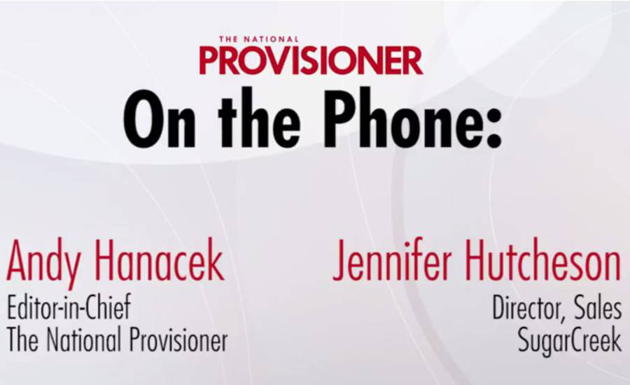 On the Phone video interview with Andy Hanacek and SugarCreek Director of Sales Jennifer Hutcheson