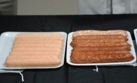 Small-Diameter Flavored Sausages