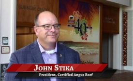John Stika, President of Certified Angus Beef
