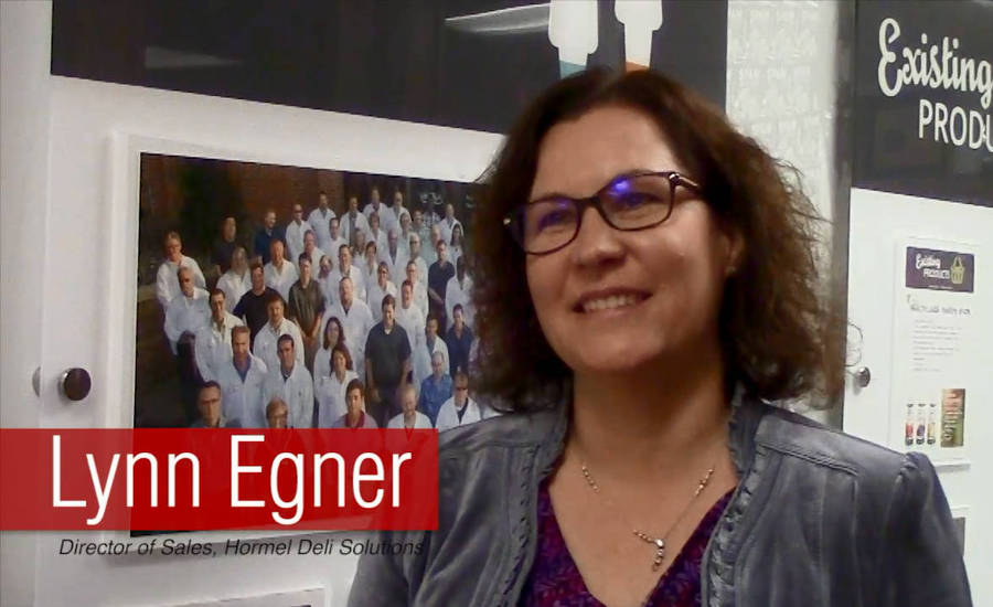 Lynn Egner, director of Sales, Hormel Deli Solutions