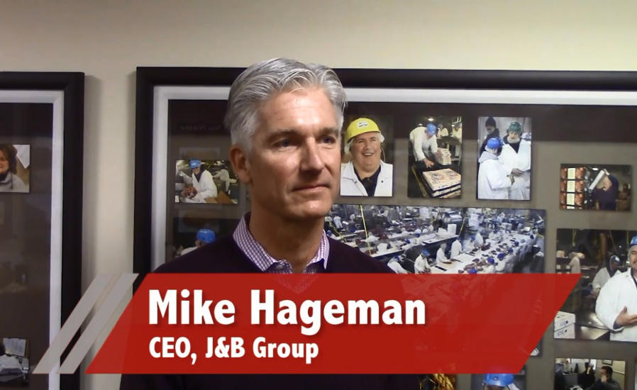 Mike Hageman, CEO, J&B Group