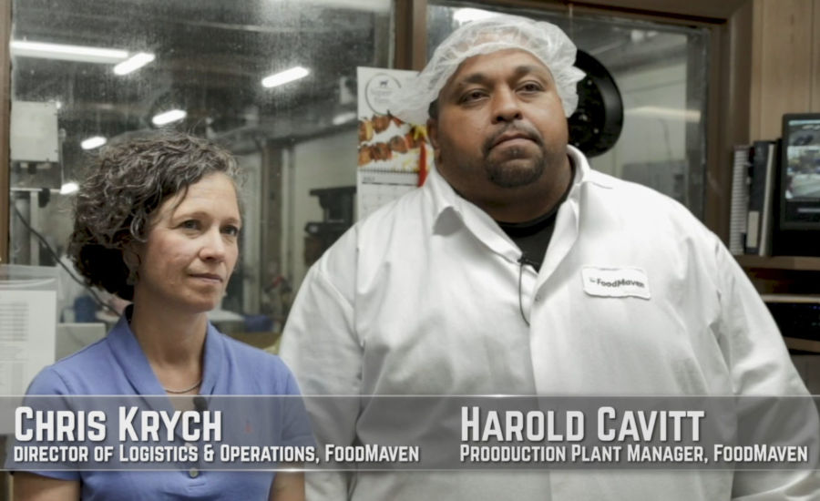 Chris Krych and Harold Cavitt of FoodMaven