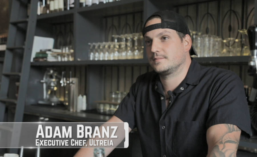 Adam Branz, Executive Chef of Ultreia