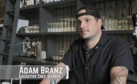 Adam Branz, Executive Chef of Ultreia
