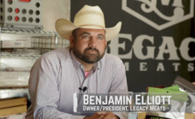 Ben Elliott, Owner and President of Legacy Meats