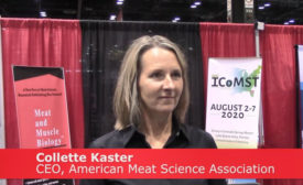 Collette Kaster, CEO, American Meat Science Association