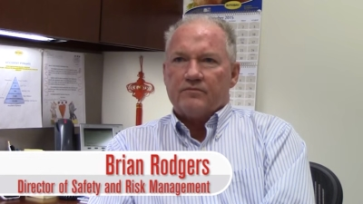 Butterball senior director of safety and risk management Brian Rodgers