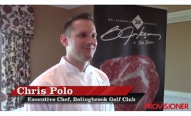 Chris Polo, executive chef of Bolingbrook Golf Club