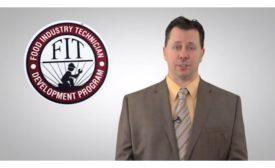 Andy Hanacek discusses new development program, Food Industry Technician, FIT
