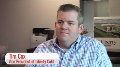 Tim Cox, Vice President of Liberty Cold